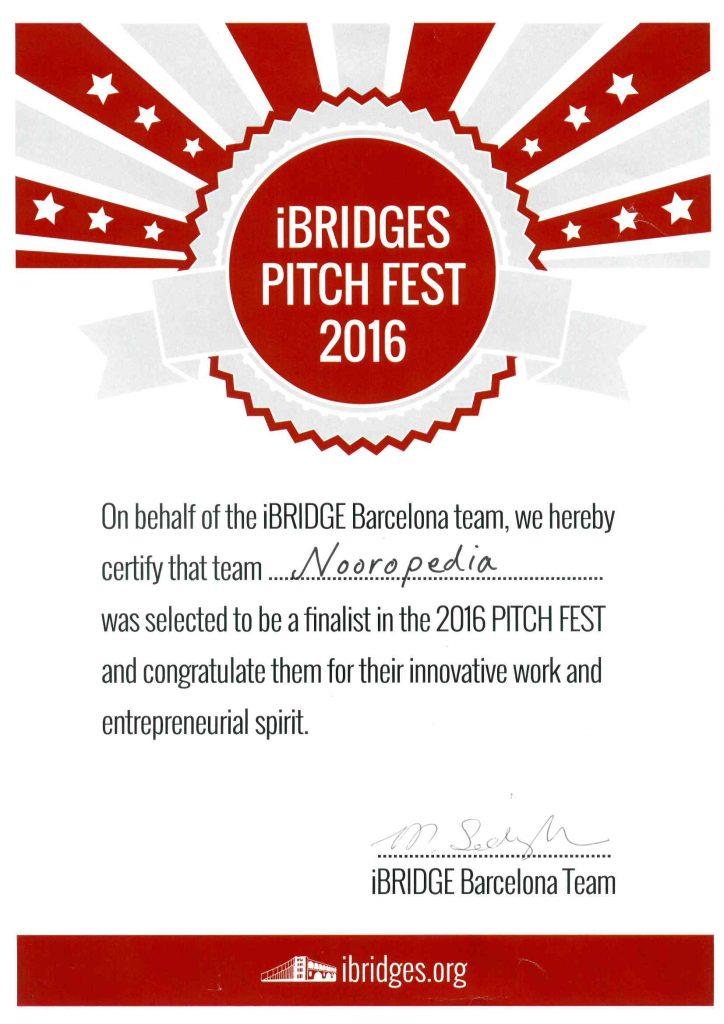 iBRIDGES PITCH FEST